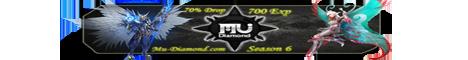 MuDiamond Season 6 EP 3  700 EXP  70% Drop