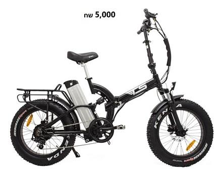 אופניים חשמליים TS GOLD